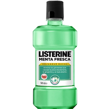 Listerine Mouthwash 500 ml Fresh Mint