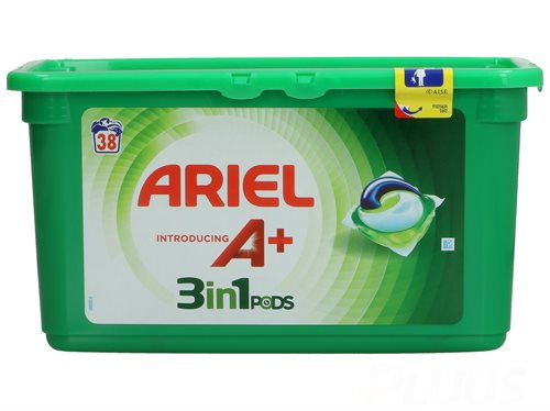 Ariel Pods 3-in-1 Vaskemiddel Regular 38 stk