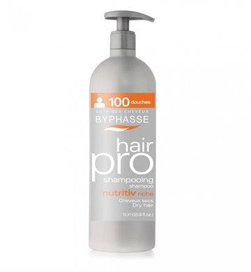 Byphasse Professional Shampoo 1000ml Nutritive Dry Hair