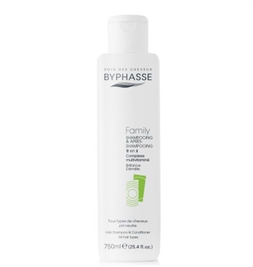 Byphasse Family Shampoo & Conditioner 750ml All Hair Types