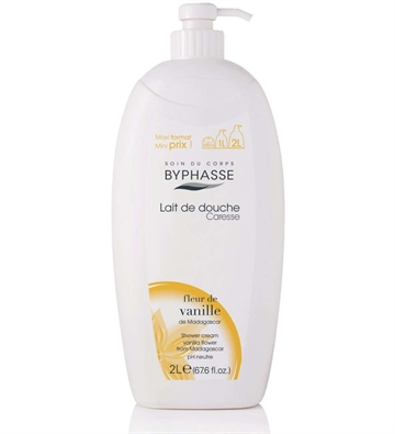 Byphasse Shower Cream 2L Vanilla Flower