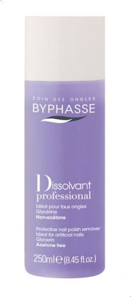 Byphasse Nail Polish Remover 250ml Professional Acetone Free