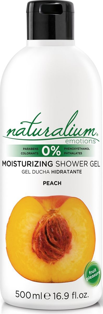 Naturalium Peach Shower Gel 500ml