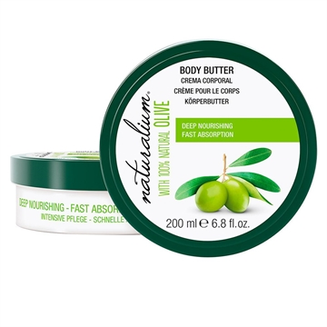 Naturalium Oliva 100% Body Butter 200ml
