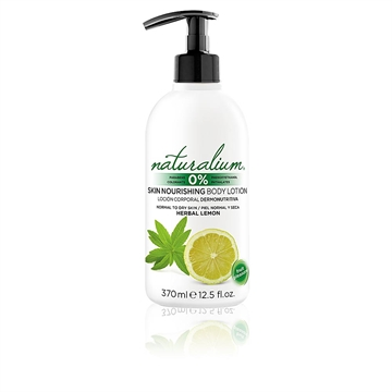 Naturalium Herbal Lemon Body Lotion 370ml