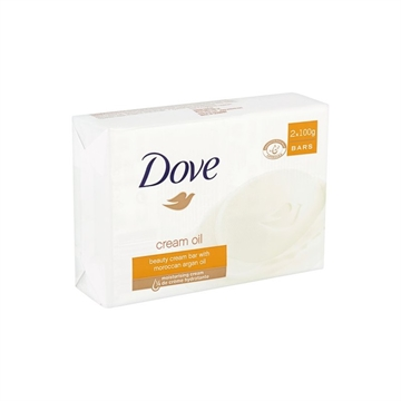Dove Bar Soap 2X100 Gr Argan Oil