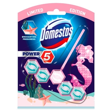 Domestos Power 5 Toiletblok Mermaid 55G