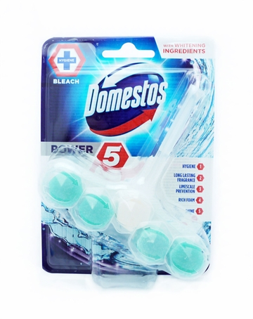 Domestos Power 5 Toiletblok Chlorine 55G