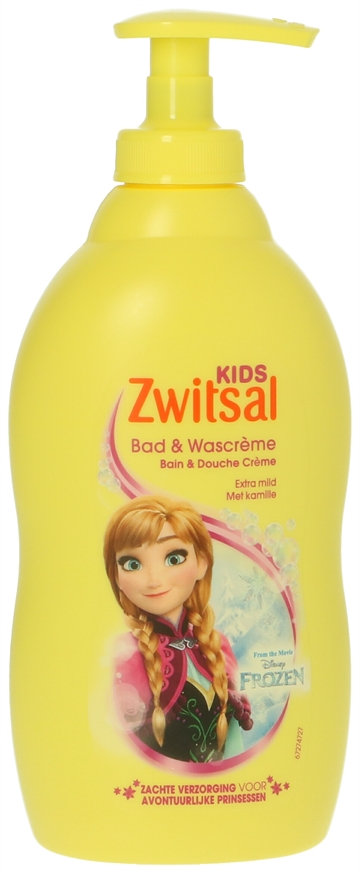 Zwitsal Kids Bad & Wascreme Frozen 400ml
