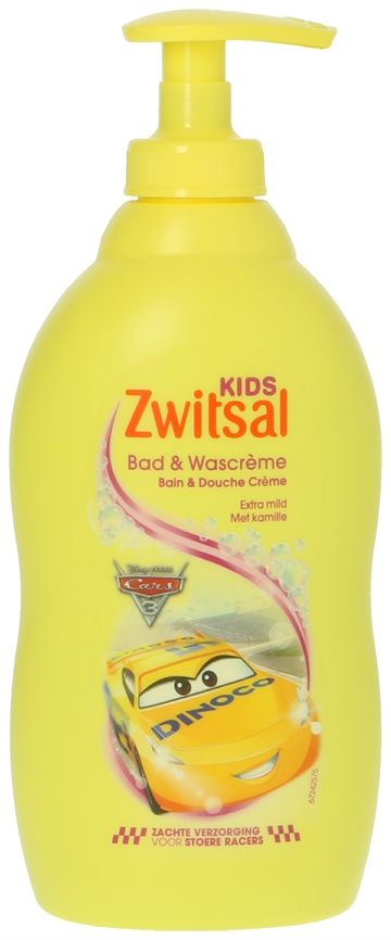 Zwitsal Kids Bad & Wascreme Cars 400ml