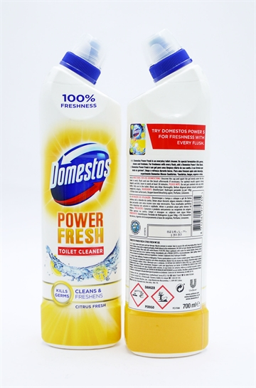 Domestos Bleach Power Fresh Citrus 700ml