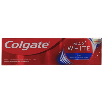 Colgate Toothpaste 75ml Max White Optic