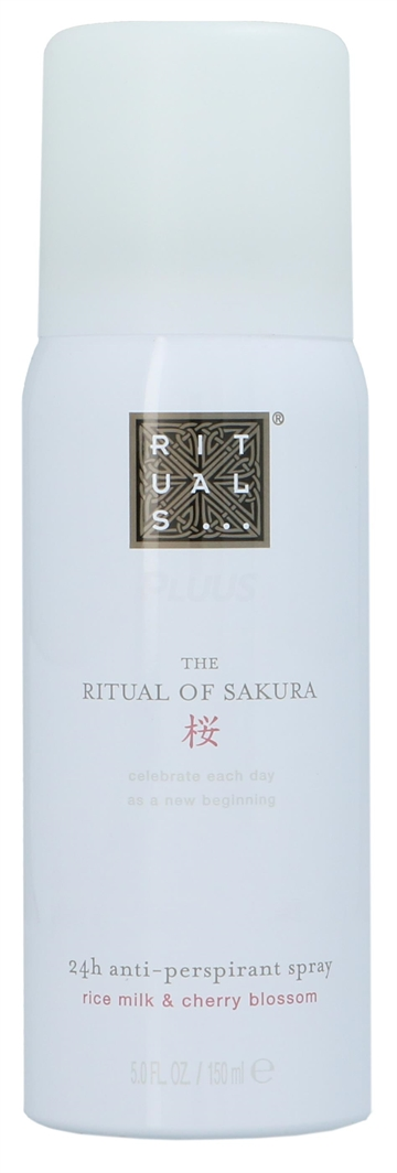 Rituals Sakura Anti Perspirant Spray 150ml Rice Milk & Cherry Blossom
