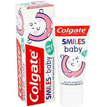 Colgate Toothpaste Smiles 0-2 Yrs Baby 50ml