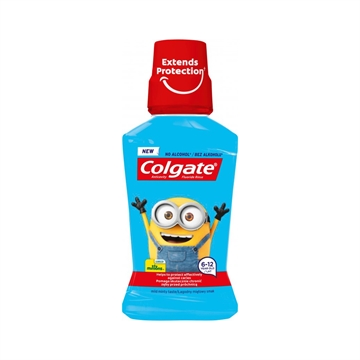 Colgate mouthwash 250ml Minions soft mint