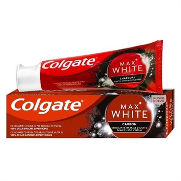 Colgate Toothpaste 75ml Max White Charcoal