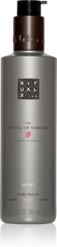 Rituals Samurai Sport Body Lotion 250ml Organic Bamboo & Cypress