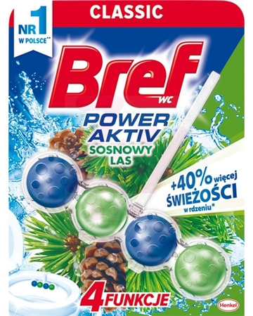 Bref WC Power Active 50 gr Pine