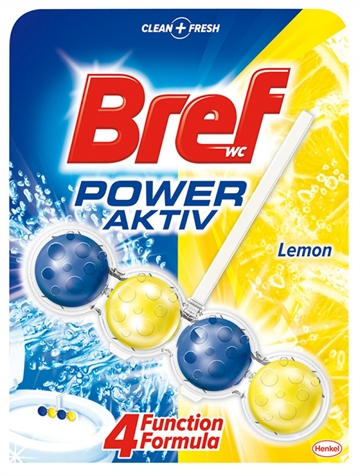 Bref WC Power Active 50 gr Lemon