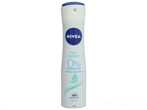 Nivea Deo Spray - Fresh Comfort 0% Alluminium 150ml