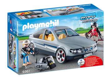 Playmobil Swat Undercover Car 9361