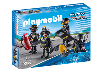 Playmobil Swat Team 9365
