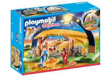Playmobil Illuminating Nativity Manger 9494