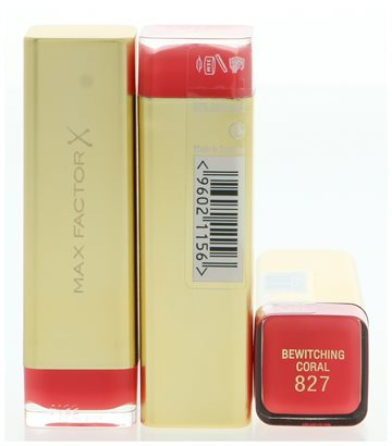 Max Factor Colour Elixir Lipstick #827 Bewitching Coral 4 gr