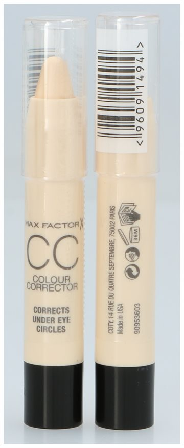Max Factor Cc Colour Corrector Yellow - Corrects Under Eye Circles 3,3 gr