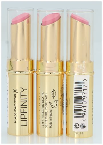 Max Factor Lipfinity Long Lasting Lipstick #10 Stay Exclus 1,9 gr