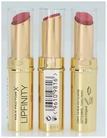Max Factor Lipfinity Long Lasting Lipstick #65 So Luxuriant 1,9 gr