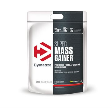 Dymatize Super Mass Gainer 5.2kg strawberry