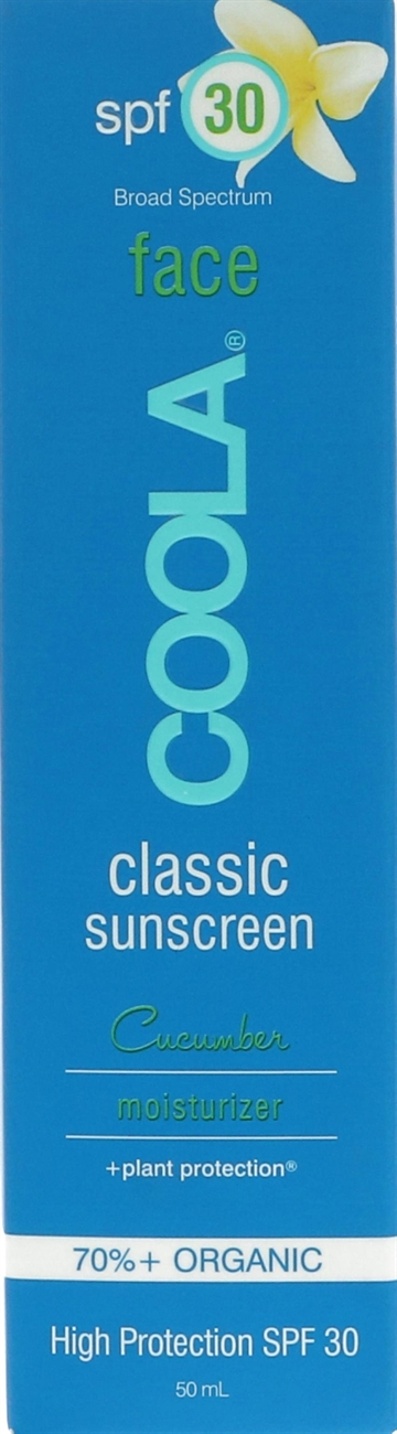 Coola Classic Face Sunscreen Moisturizer SPF30 50ml