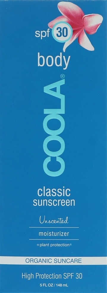 Coola Classic Sunscreen Body Moisturizer SPF 30 148ml