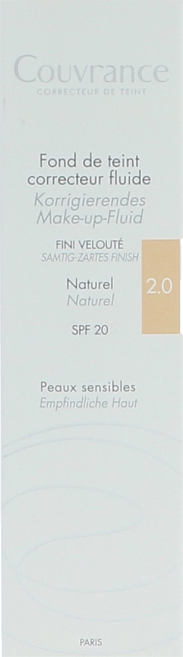 Avene Fluid Foundation Corrector SPF20 30ml