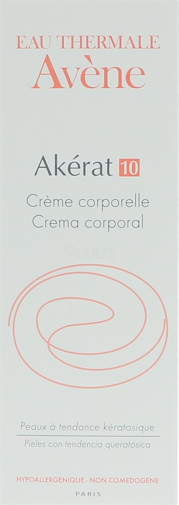 Avene Akerat 10 Body Cream 200ml