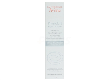 Avene PhysioLift Night Smoothing,Regenerating Balm 30ml