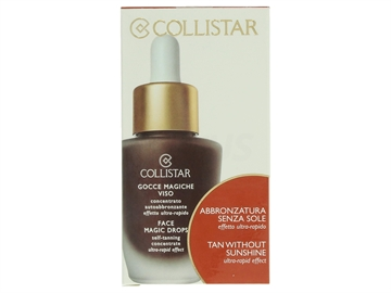 Collistar Face Magic Drops Self-Tanning Concentrat 30ml