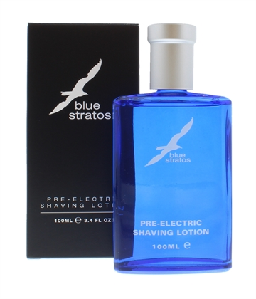 Blue Stratos Pre Electric Shaving Lotion 100ml