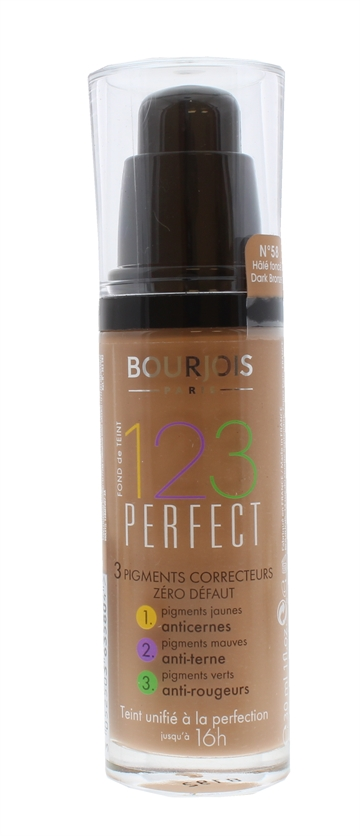 Bourjois 123 Perfect Foundation Dark Bronze 58