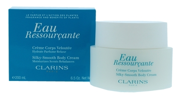 Clarins 200ml Eau Ressourcante Silky Smooth Body Cream