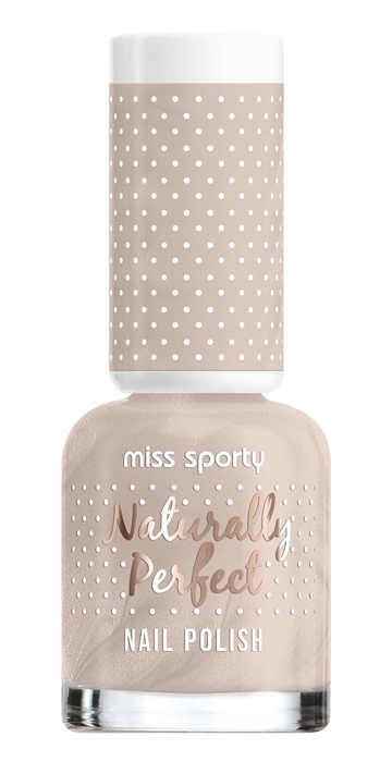 Miss Sporty Naturally Perfect 8ml Nail Polish Sugared Almond 007