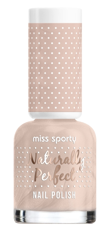 Miss Sporty Naturally Perfect 8ml Nail Polish Vanilla Flavour 006