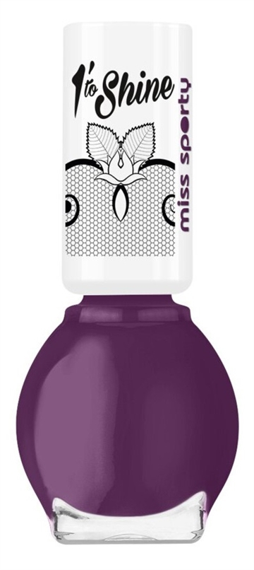 Miss Sporty 1 Minute To Shine 7ml Nail Polish Girl In Lace 360
