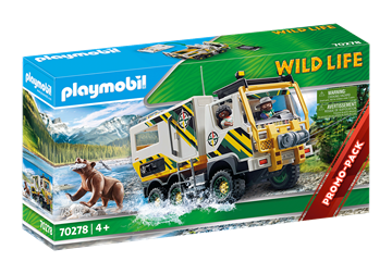 Playmobil - Ekspeditionstruck (70278)