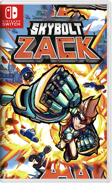 Skybolt Zack (Code in a box) - Nintendo Switch