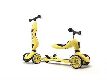 Scoot and Ride - 2 i 1 Løbecykel/ Løbehjul - Lemon