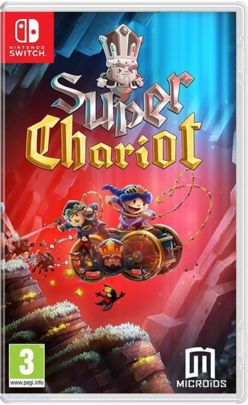 Super Chariot  Replay (Code in a Box) - Nintendo Switch