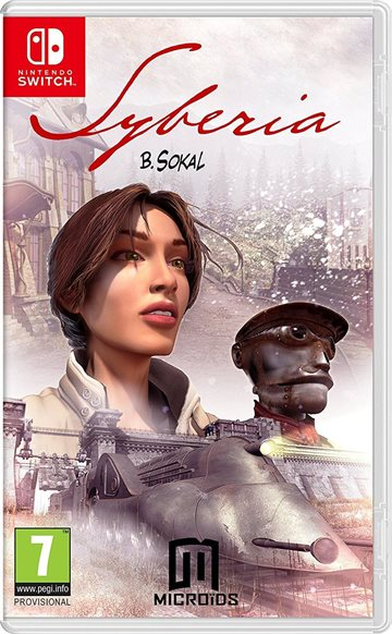 Syberia Replay (Code in a Box) - Nintendo Switch