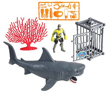 Wild Quest - Shark Attack Playset (549003)